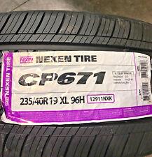 4 New 235 40 19 Nexen CP671 Tires