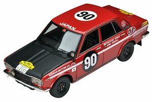 Ignition Model x Tomytec 1/43 T-IG4308 DATSUN BLUEBIRD SAFARI RALLY #90