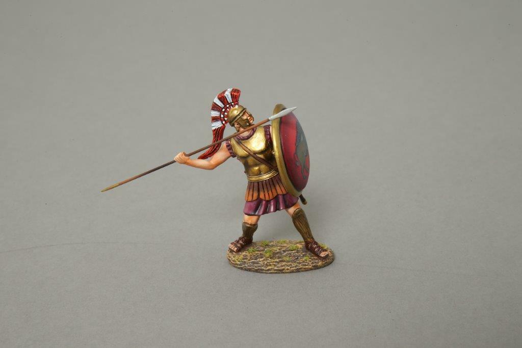THOMAS GUNN SPA001G - Spartan Warrior (Wild Boar)  Painted Metal