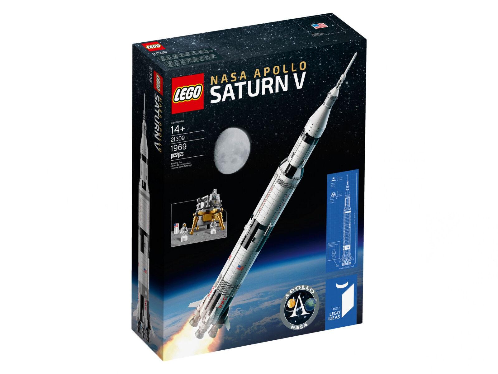 Lego ® ideas 21309 lego ® nasa Apollo Saturn V + OVP + envío rápido