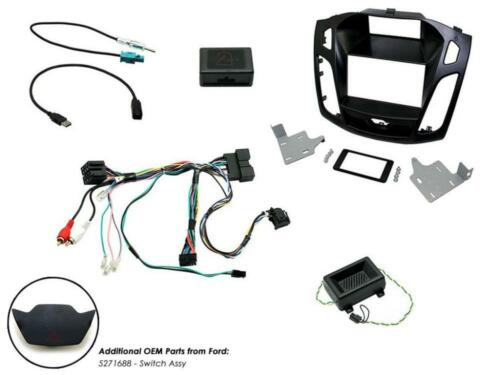 Connects2 CTKFD64 Ford Focus 2015 On Complete Double Din Fitting Kit