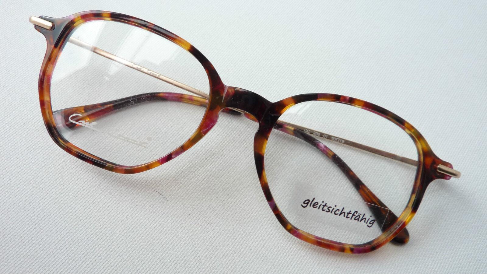 Brille klassische Brillenfassung Pantobrille braun marmoriert Gestell Grösse L | | | Starker Wert  dbd6aa