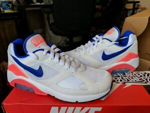 Nike Air Max 180 OG 2018 Ultramarine White Solar Red Retro Limited ... fb5ca627d