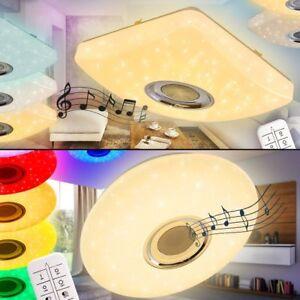 Fernbedienung Lautsprecher LED Decken Leuchte RGB Flur Wohn Schlaf Zimmer Lampe
