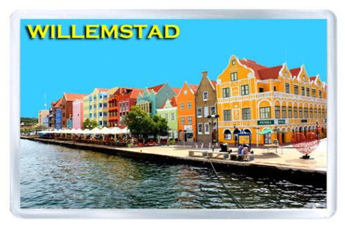 Willemstad Curaçao MOD2 Aimant Souvenir Aimant Frigo