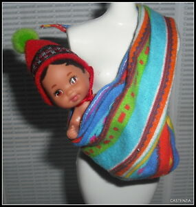 Baby Mattel Barbie Doll Peruvian Baby Doll Amp Vibrant Multi
