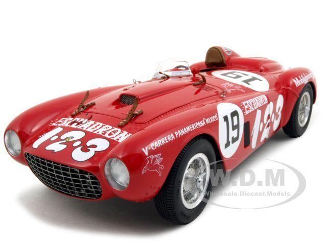 Ferrari 375 Plus V  19 Panamericana Winner  Diecast Model Car By Bbr 18004