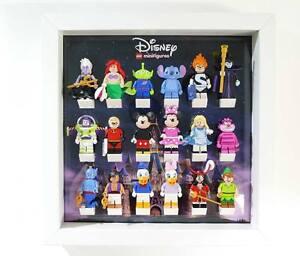 disney castle acrylic display frame for minifigures ebay. Black Bedroom Furniture Sets. Home Design Ideas