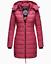 Indexbild 37 - Marikoo Damen Herbst Winter Jacke Stepp Mantel FVS4 Parka Steppjacke lange Neu