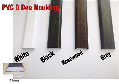 Innovo 13mm 5 Metre White PVC Corner Quadrant Finishing Bead Trim Doors Windows
