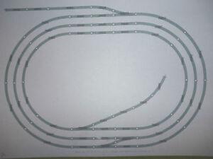Hornby-Job-Lot-Nickel-Silver-Track-Triple-Oval-amp-sidings-minor-sleeper-defects