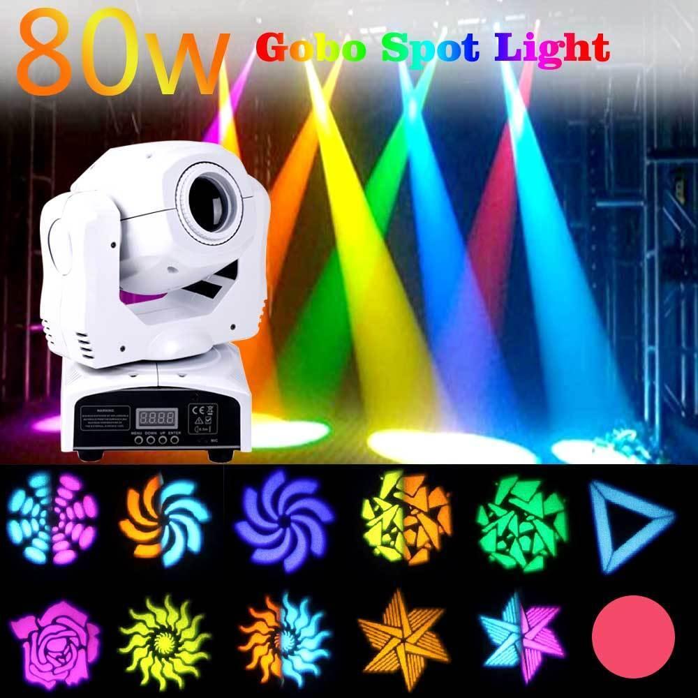 RGBW DJ Lighting moving head GOBO LED Lighting DMX Spot Club Disco DJ Party KTV