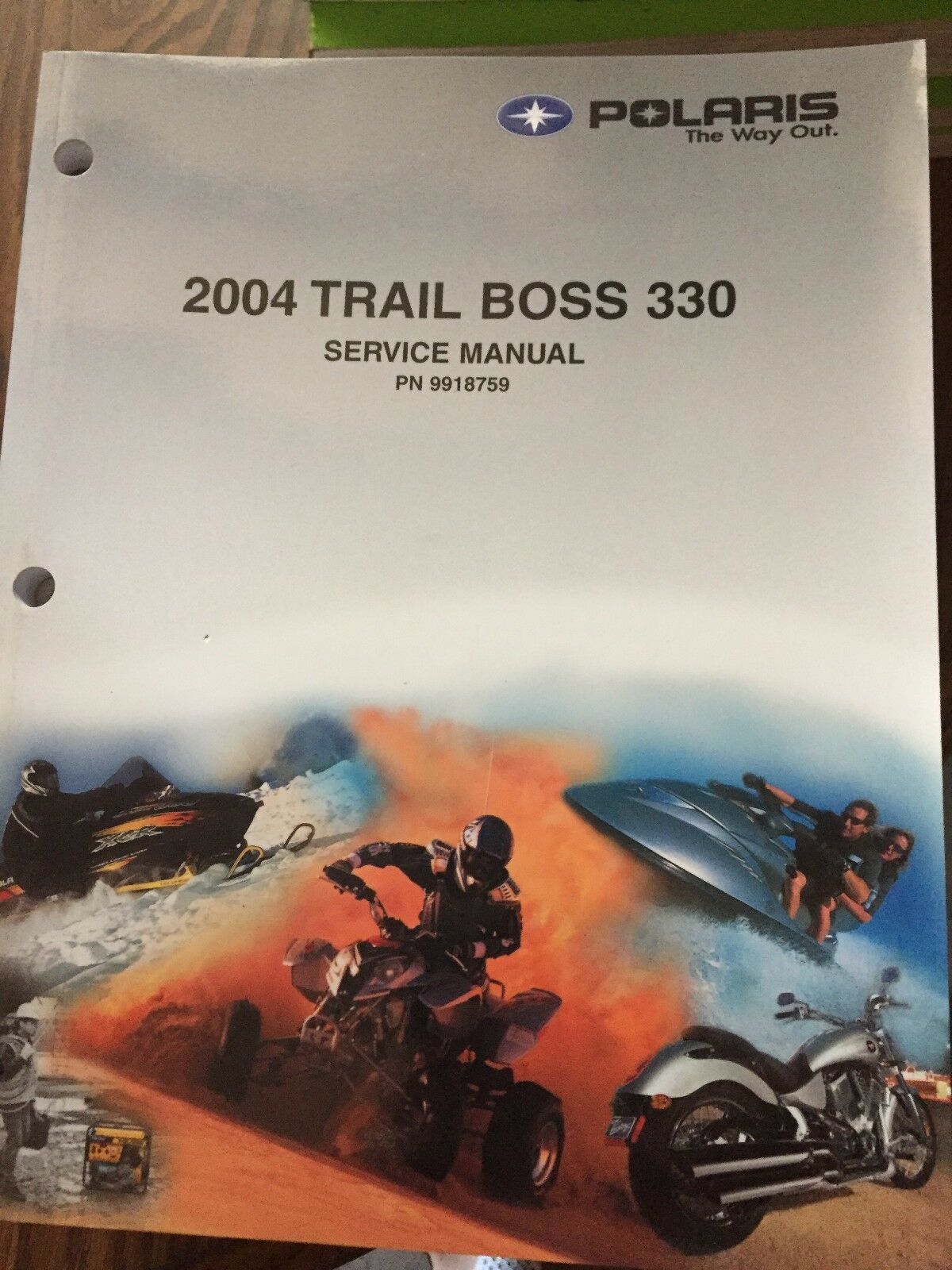 2004 Polaris Trail Boss 330 Service Manual PN  9918759