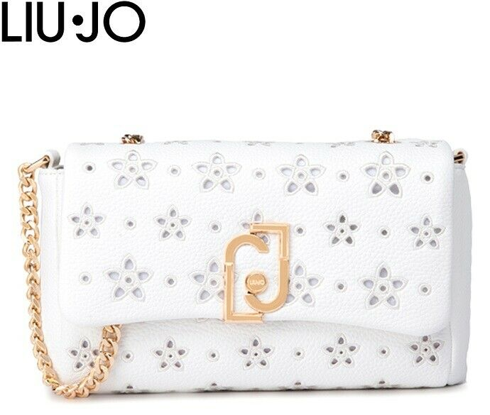 LIU-JO Borsa Donna Mod NA0211 E0027 10701 Bianco U