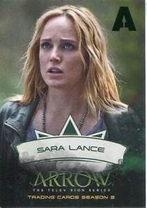 Arrow Season 2 Green Foil Parallel Character Chase Card CB1 Sara Lance
