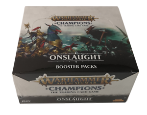 Warhammer  Age of Sigmar - Champions Onslaught Booster Box NEW