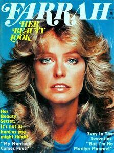 Farrah-Fawcett-Majors-Magazine-Her-Beauty-Look-1977-Charlie-039-s-Angels-Pinup-Girl