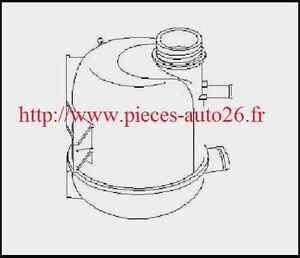 Vase expansion eau Clio 2 Kangoo Dacia Logan