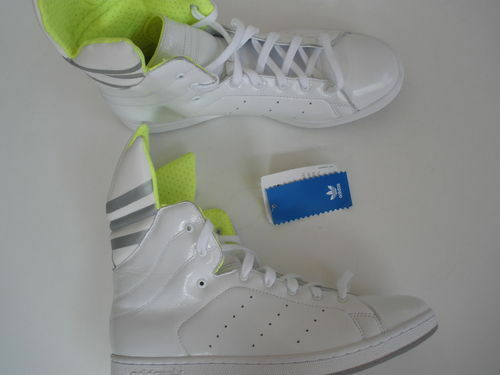 Adidas TREFOIL leather donna US 9.5    EUR 42 NEW c86727