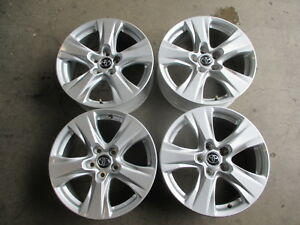 Image Is Loading Four 2019 Toyota Rav4 Factory 17 Wheels Rims
