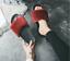 Ladies Womens SLIP ON SLIPPERS FLUFFY FUR FLAT SLIDERS FLIP FLOPS SHOES SIZES UK