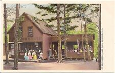 Refreshment Stand at Contoocook River Park in Concord NH Postcard