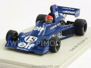 Tyrrell 007 Gp Usa 1975 Michel Leclere 1:43 Spark S1881