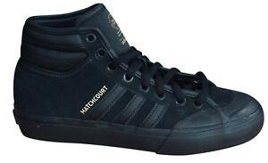 c1210494c93 Adidas Originals Matchcourt High RX2 Mens Lace Up Trainers Black ...