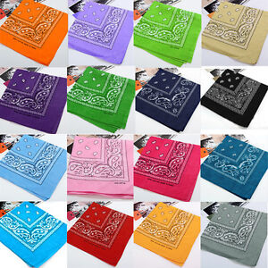 55-55Cm-Large-Square-Paisley-Cotton-Kerchief-Sports-Bandana-Headwear-Colorful