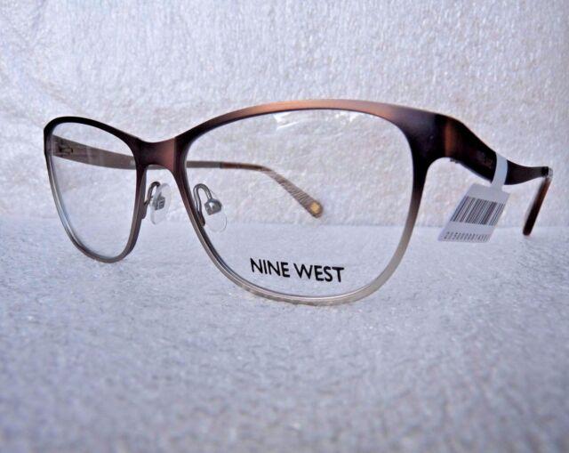 Nine West Nw1028 216 Eyeglasses Glasses Frames 53-15-135 Brown ...