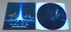 NEIL-DAVIDGE-Halo-4-Exclusive-Remixes-SIGNED-ltd-12-034-vinyl-picture-disc-CoA