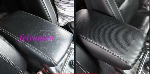 Carbon fiber Center Armrest Surface Case Cover For Jeep Grand Cherokee 2014-2019