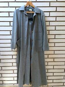 pezzi Giacca lana pantaloni giacca taglia misto Nwot in grigio e 2 lunga in foderate 8 laterali foderate 8n1qE1Ixrw
