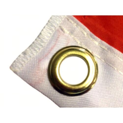 100/% Polyester Banner Striped Black /& White County Flag 5 x 3 FT