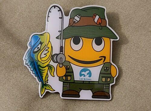 New Amazon Fisherman Peccy Pin
