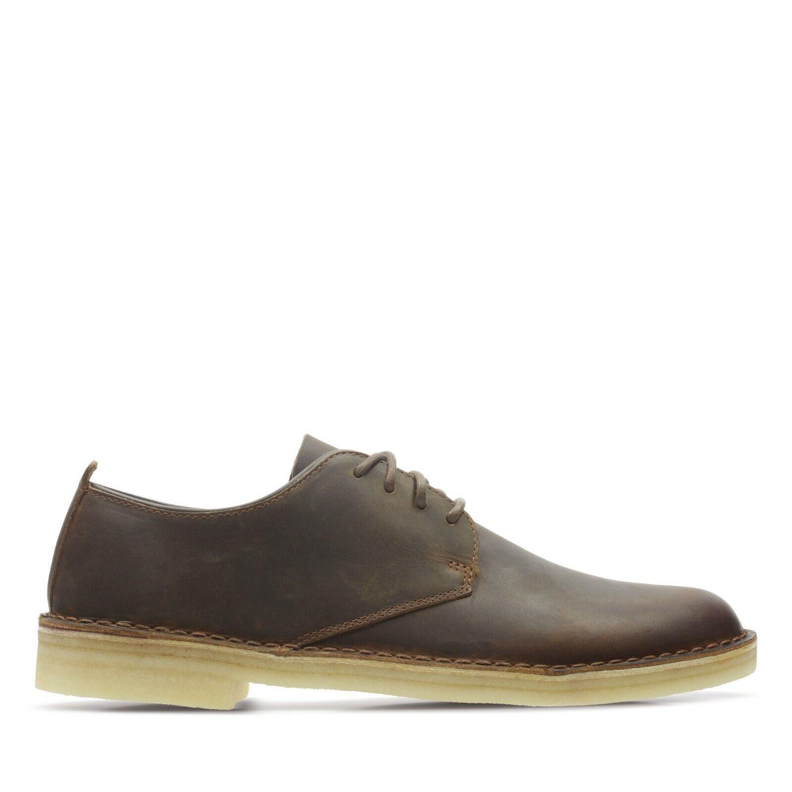 Clarks ORIGINALS Men's DESERT LONDON in Beeswax Leather - Size 9 UK / Braned New