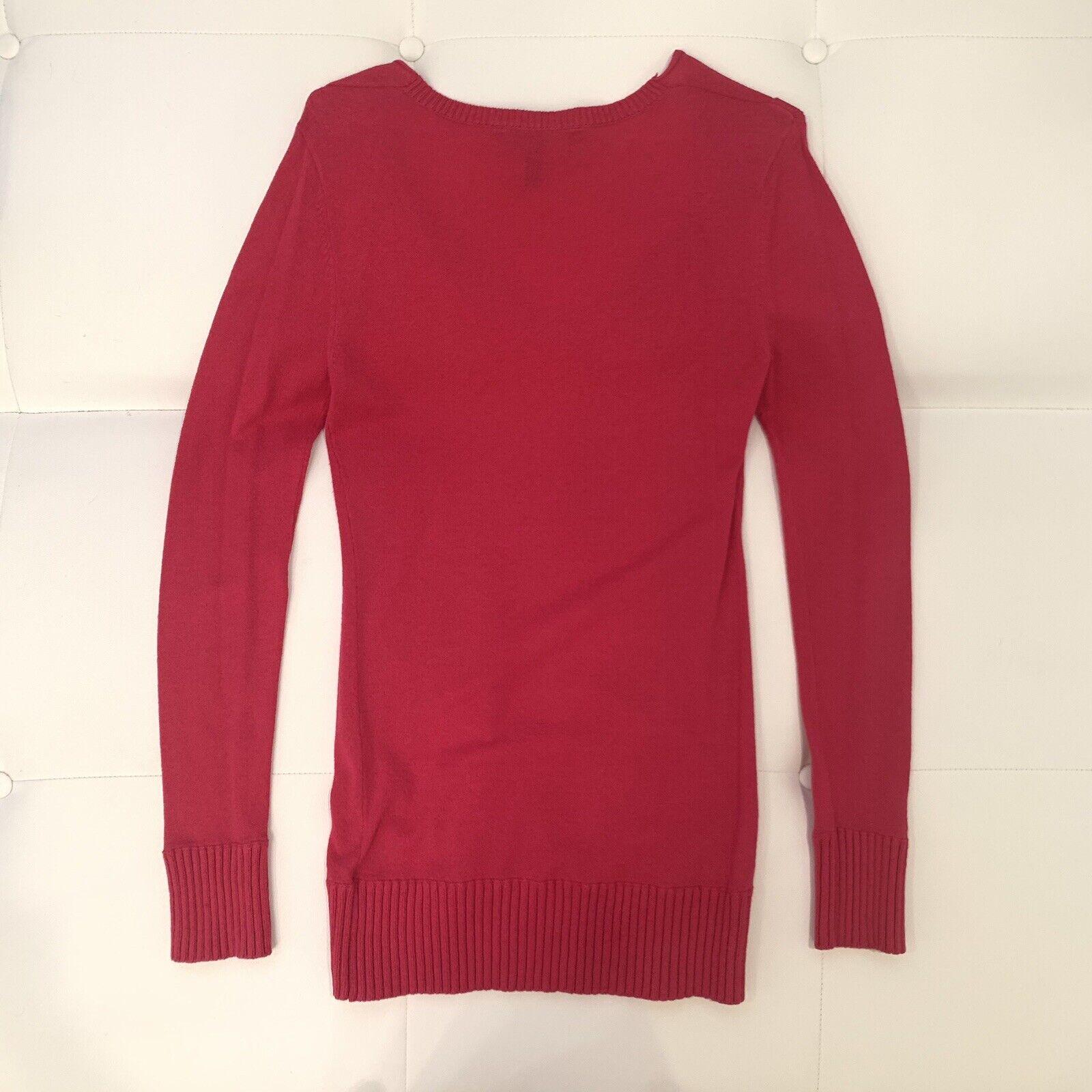 BCBG BCBG BCBG MAXAZRIA Bright Pink Sweater Sz S cde94a