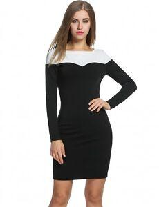 huge selection of 9e1c2 db46d Dettagli su vestitino vestito abito tubino donna verde nero pizzo elegante  manica lunga 3289