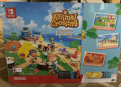 Animal Crossing Horizons Nintendo Switch Gamestop Promo Large