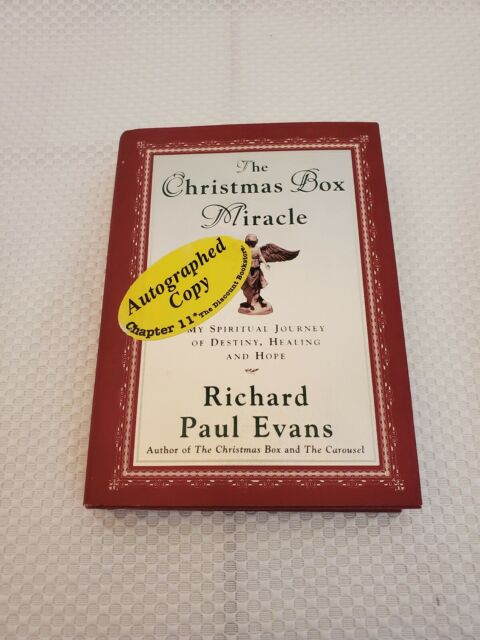 The Christmas Box Miracle by Richard Paul Evans (2001, Hardcover) SIGNED 1st/1st   eBay