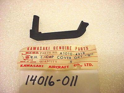 NOS KAWASAKI A1 A7 SAMURAI AVENGER RIGHT ENGINE COVER CAP GASKET A1010-4318