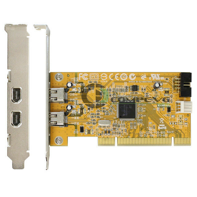 2 Port USB 3.0 PCI-E Expansion Card 19pin Header 4pin IDE Power Connector NHV BR