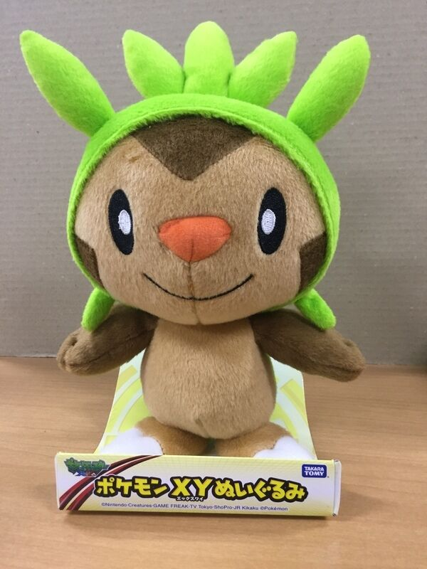Takaratomy New Pokemon N-02 X and Y Chespin/Harimaron 11