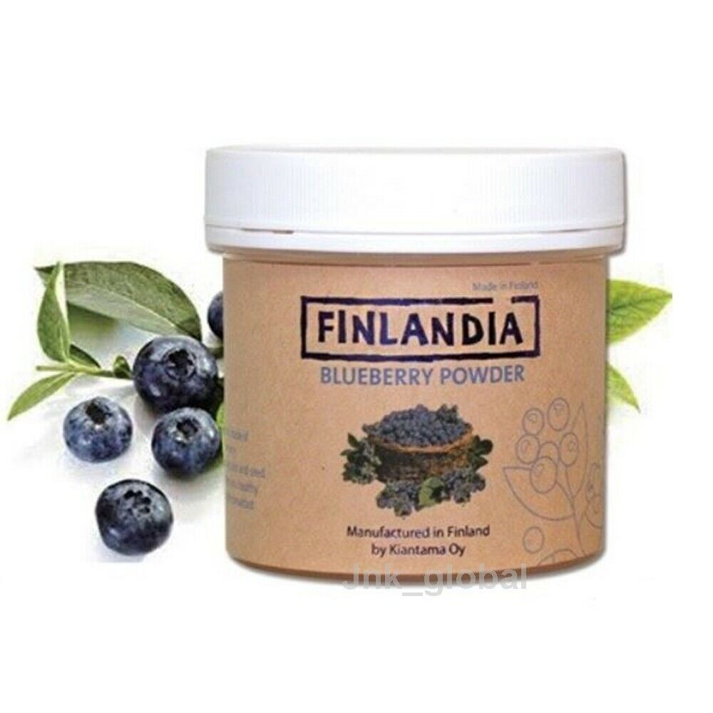 Finlandia Blueberry Powder Freeze Dried Superfood Anti Aging Eye