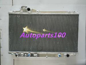 For-Toyota-Supra-Radiator-turbo-Auto-JZA80-JZA80-2JZ-GTE-93-98-2-Row-Aluminum
