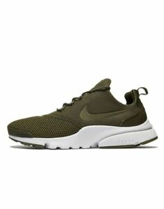 Latest-Nike-Air-Presto-Fly-Men-All-Sizes-UK-6-13-Olive-Brand-New-in-Box