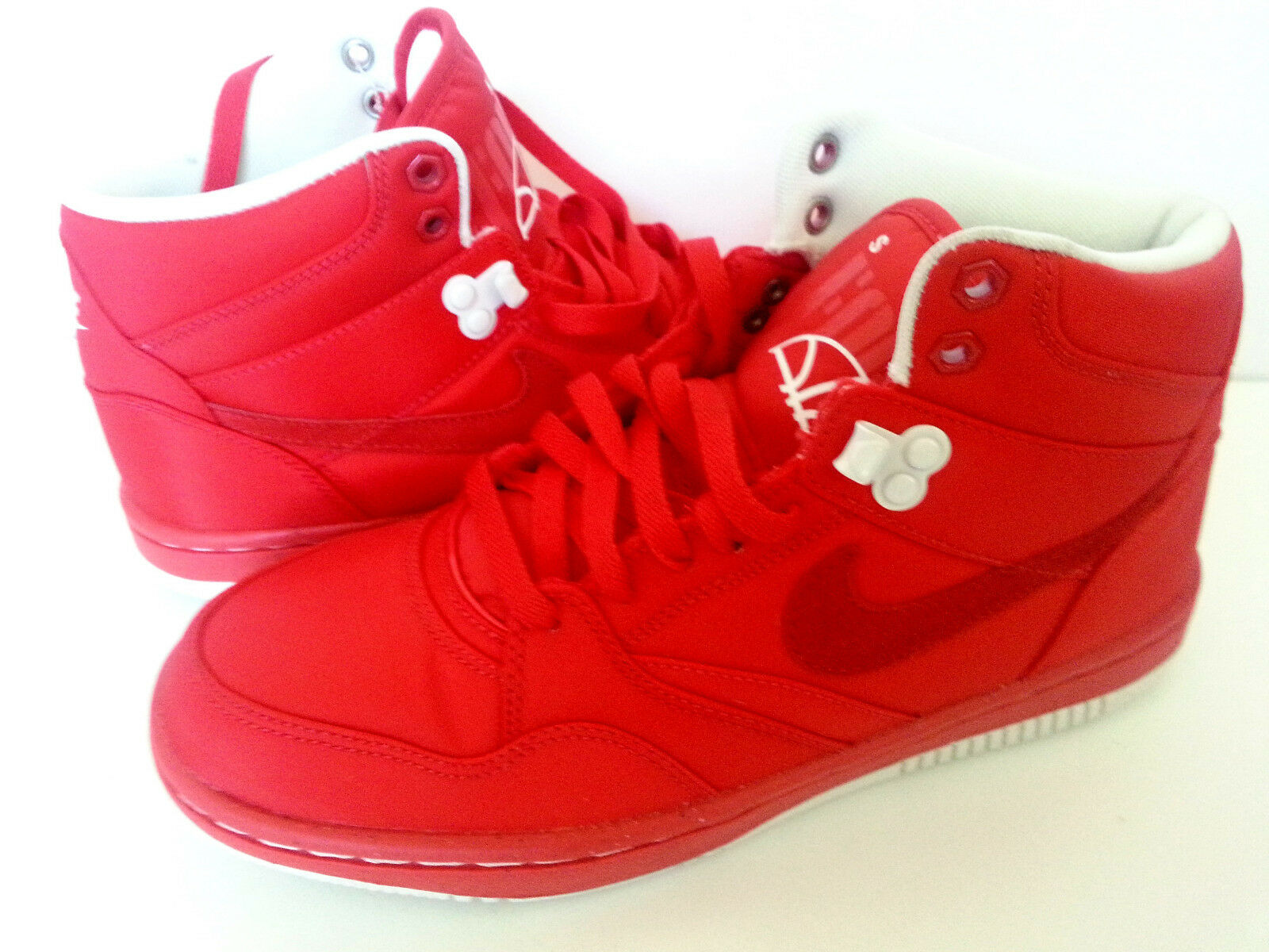 New Nike Men's Sky Red Force 88 Mid TXT Action Red Sky 488285-600 Sz 7US,40 EUR,25 cm 6160f2