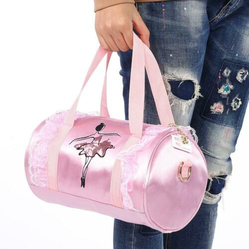 Girls Ballet Handbag Child Ballerina  Ballet Sequined Dance Shoulder Bag Pi