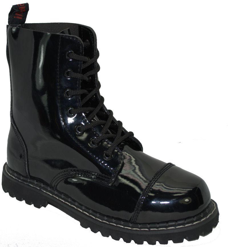Inamagura Boot Boot Boot 7 Loch 11F1011 Black 902c5d