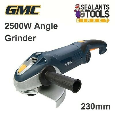 GMC Electric Angle Grinder 2500W 230mm 9 Inch AG230MGSS 852949